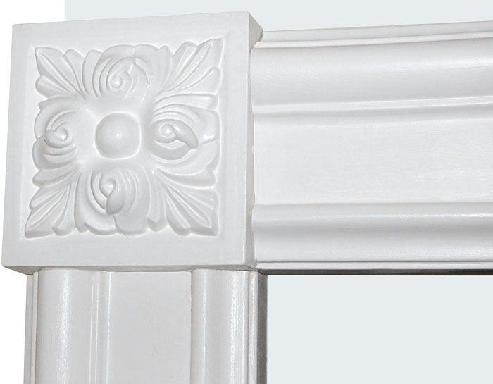 Corner Block For Window And Door Trim Door Trims Interior Window Trim Door Casing
