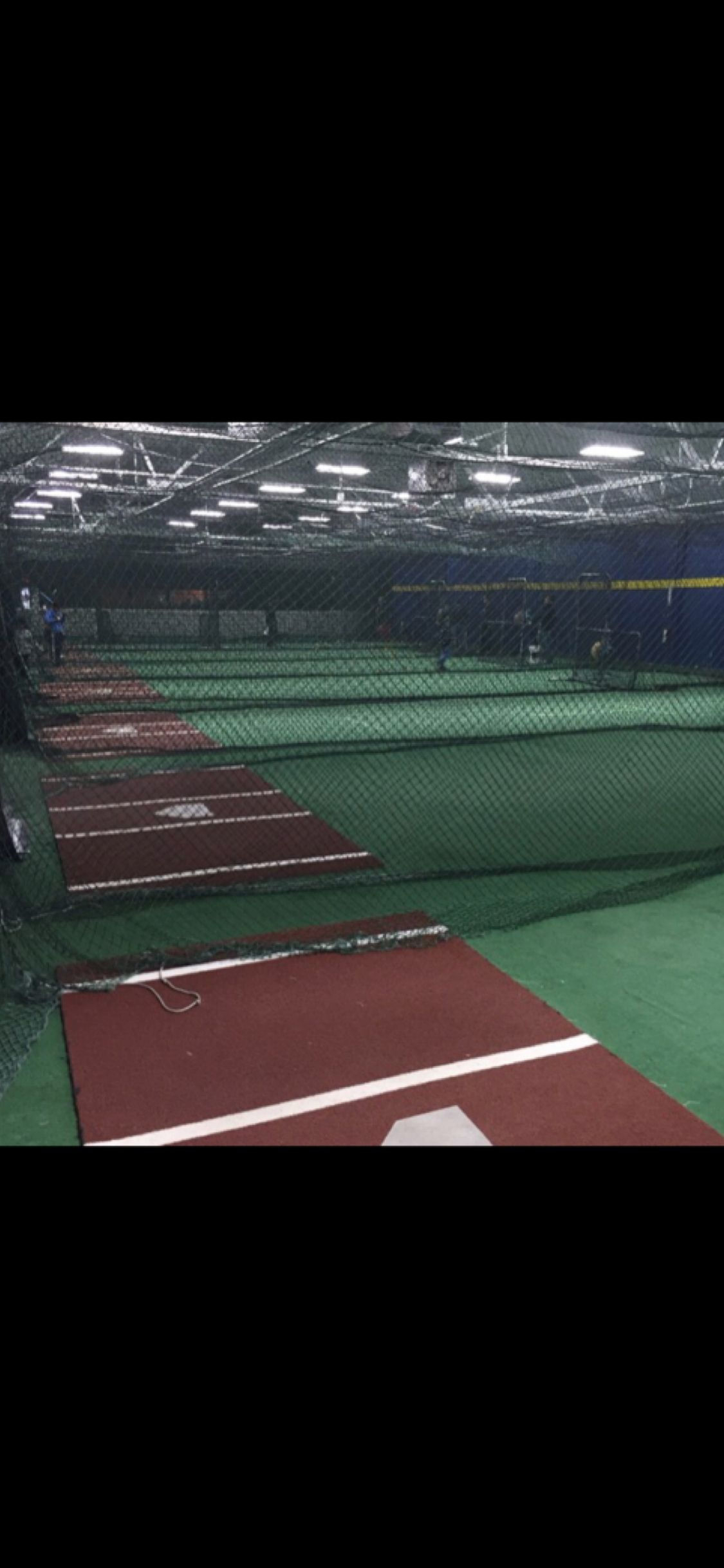 Snap of our cages just before we opened for the day. I