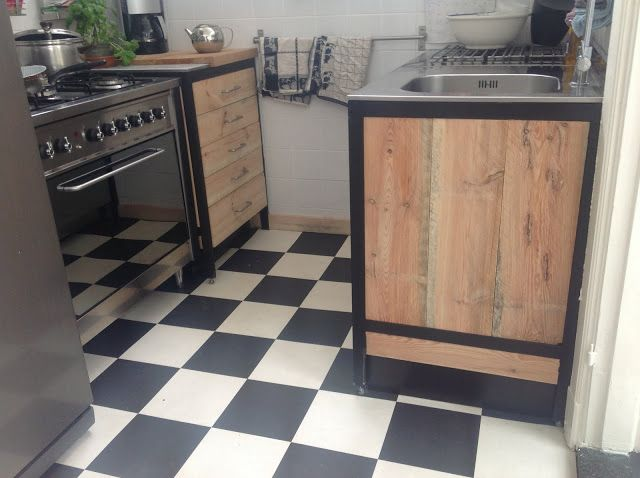 Materials Ikea Faktum cabinet and Udden kitchenDescription We