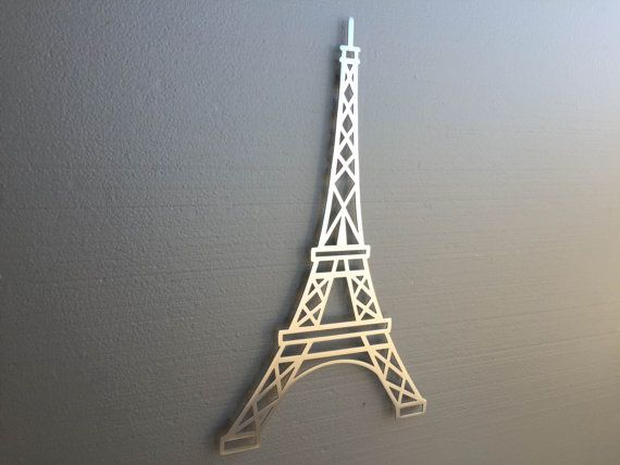 Eiffel Tower Metal Wall Art Paris France Home By INSPIREMEtals