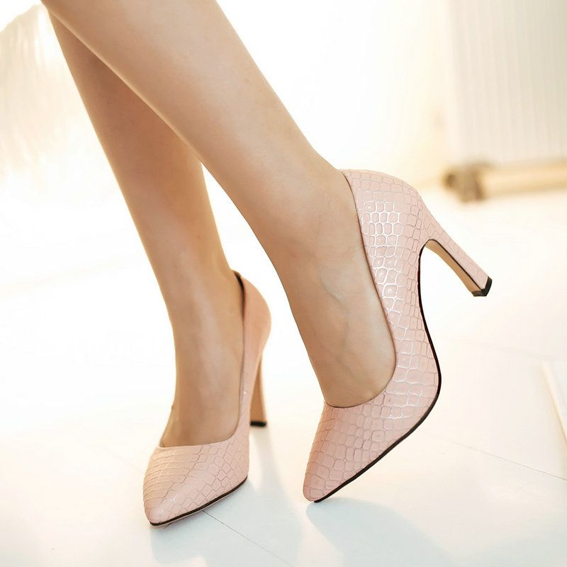 2017 New Fashion Design Red Bottom Thin and High Heel
