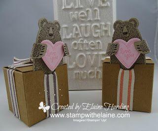 Bear Hugs Tiny Treat Box
