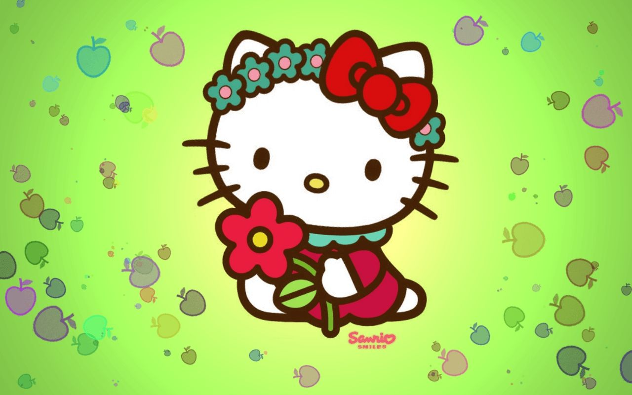 Hello Kitty Wallpapers Yellow Wallpaper Cave Inside Hello