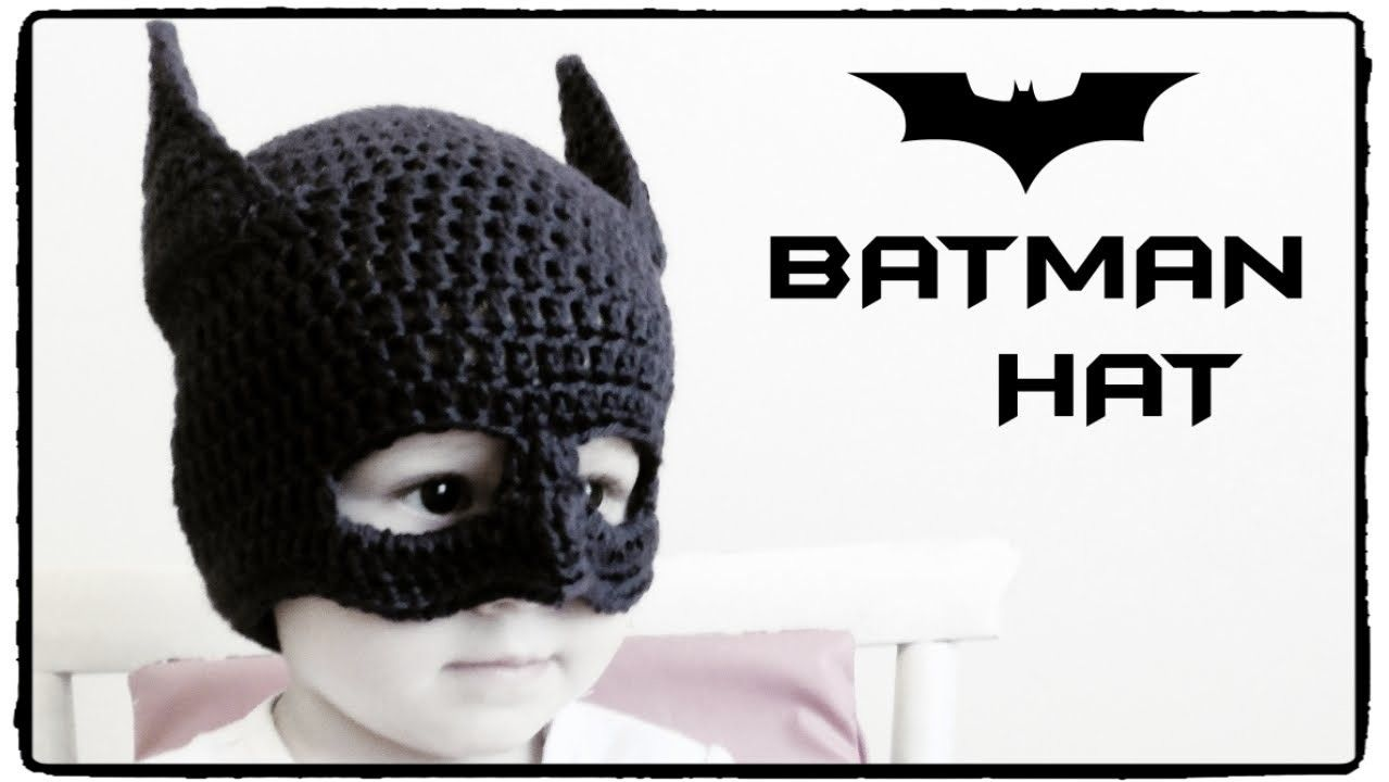 Batman Hat Crochet All Sizes Crochet Pinterest Crochet