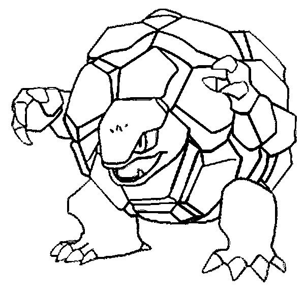 Pokemon Golem Coloring Pages Pokemon Coloring Pages
