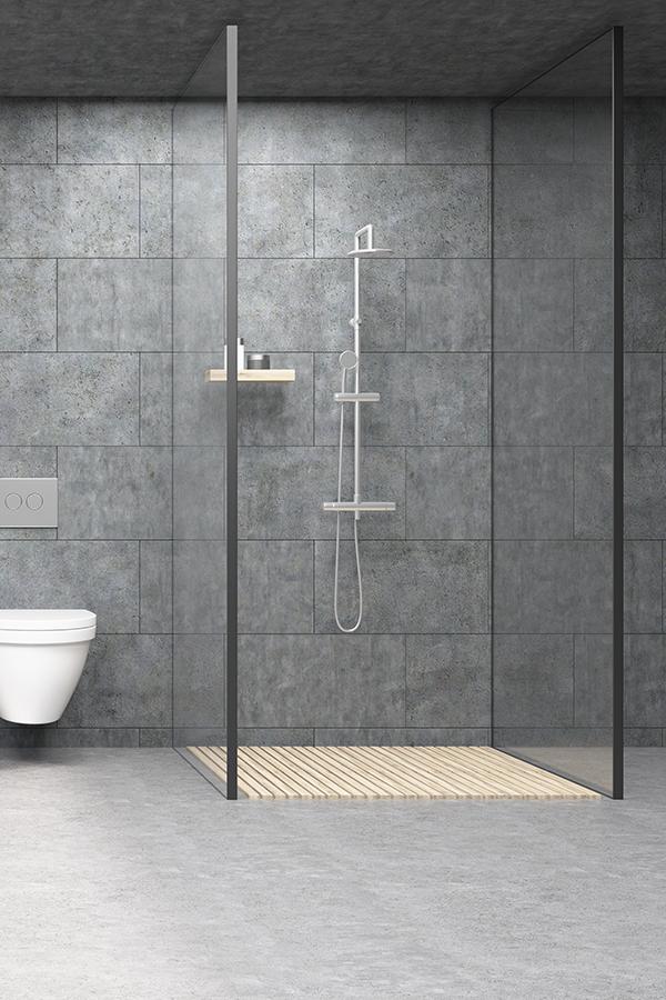 Bodengleiche Dusche mit Punktablauf bauen in 2020 Dusche