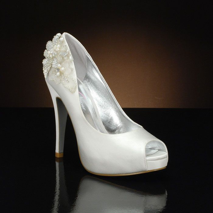 Ona Wedding Shoes   My Glass Slipper