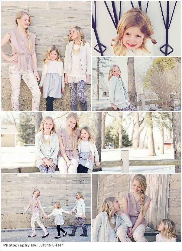 Spring family picture ideas rustic sisterly chic part 1
