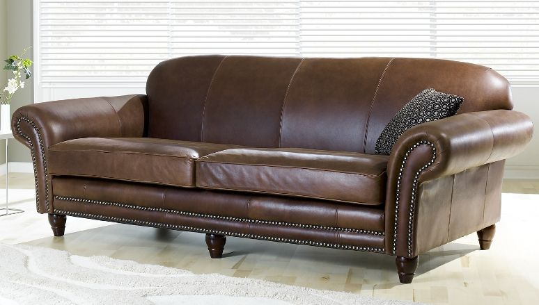 Best Brown Leather Unbuttoned Chesterfield Sofas Vintage 640 x 480