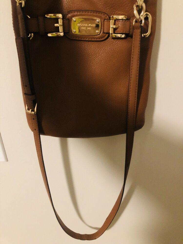 ae876ceb7ab2 MK Michael Kors Hamilton Large Crossbody Brown PVC 35F2GHMC3B #fashion  #clothing #shoes #