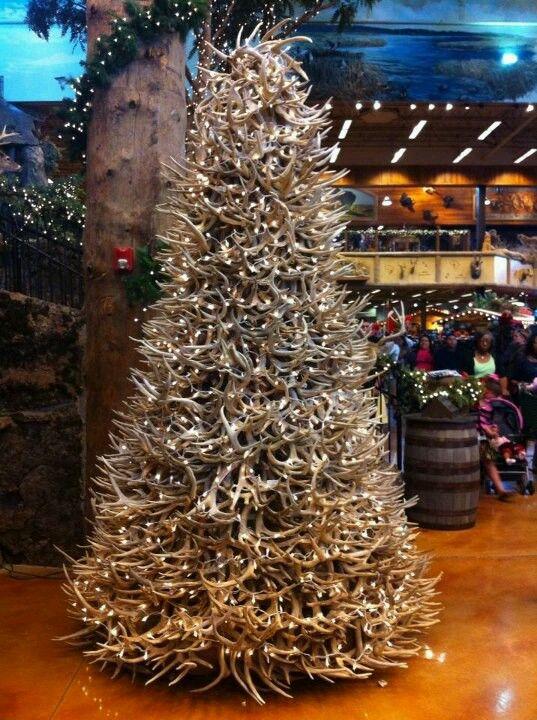Deer Antler Christmas Tree Christmas Trees Pinterest Deer