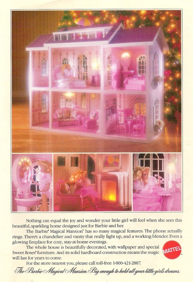Barbie Magical Mansion. Probably my dream Dreamhouse