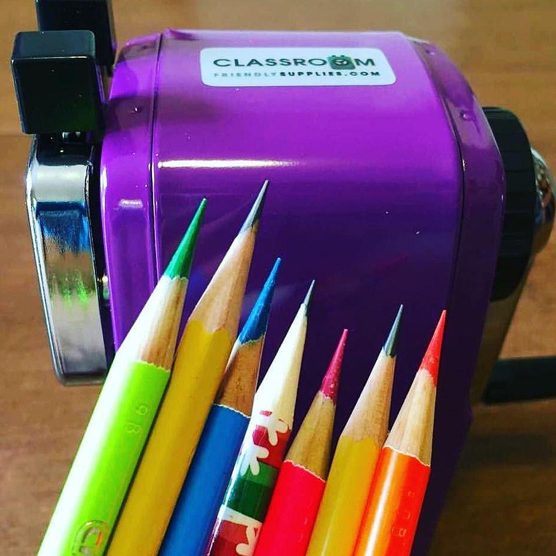 best pencil sharpener for art classroom
