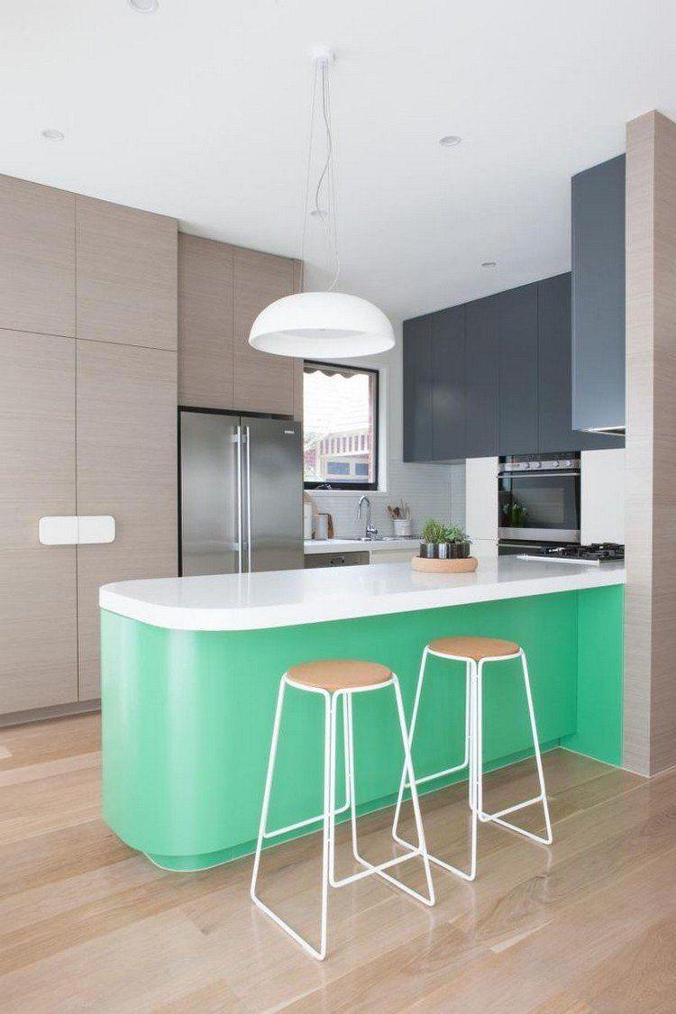 Decoracion de cocinas a todo color - 78 ejemplos | Cocina moderna ...