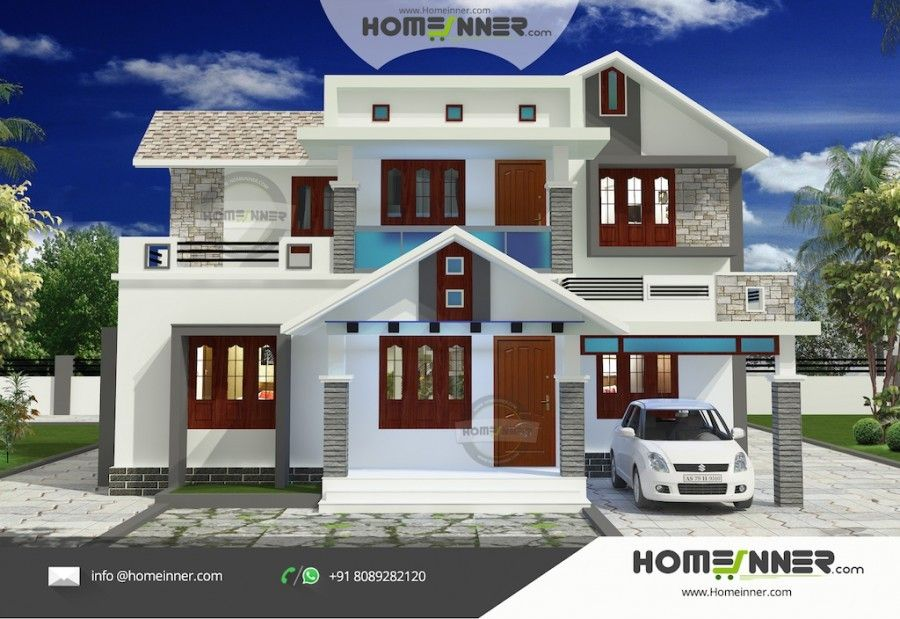 1693 Sq Ft 3 Bedroom New Home Plans With Photos Kerala House Design New Model House Model House Plan