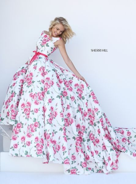 This Sherri Hill 50484 dress is perfect for Prom, Homecoming & other  special events. Order now or call Terry Costa for availability.
