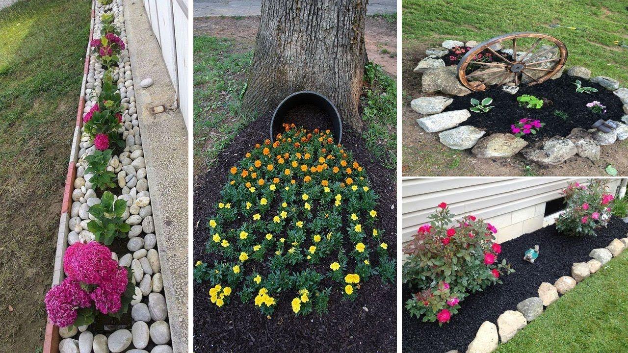 10 simple, easy and cheap diy garden landscaping ideas  garden