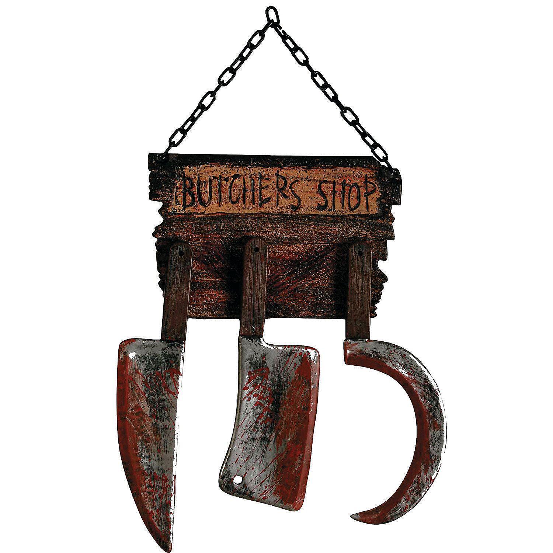 Butcher Shop Sign Halloween Décor Discontinued Butcher