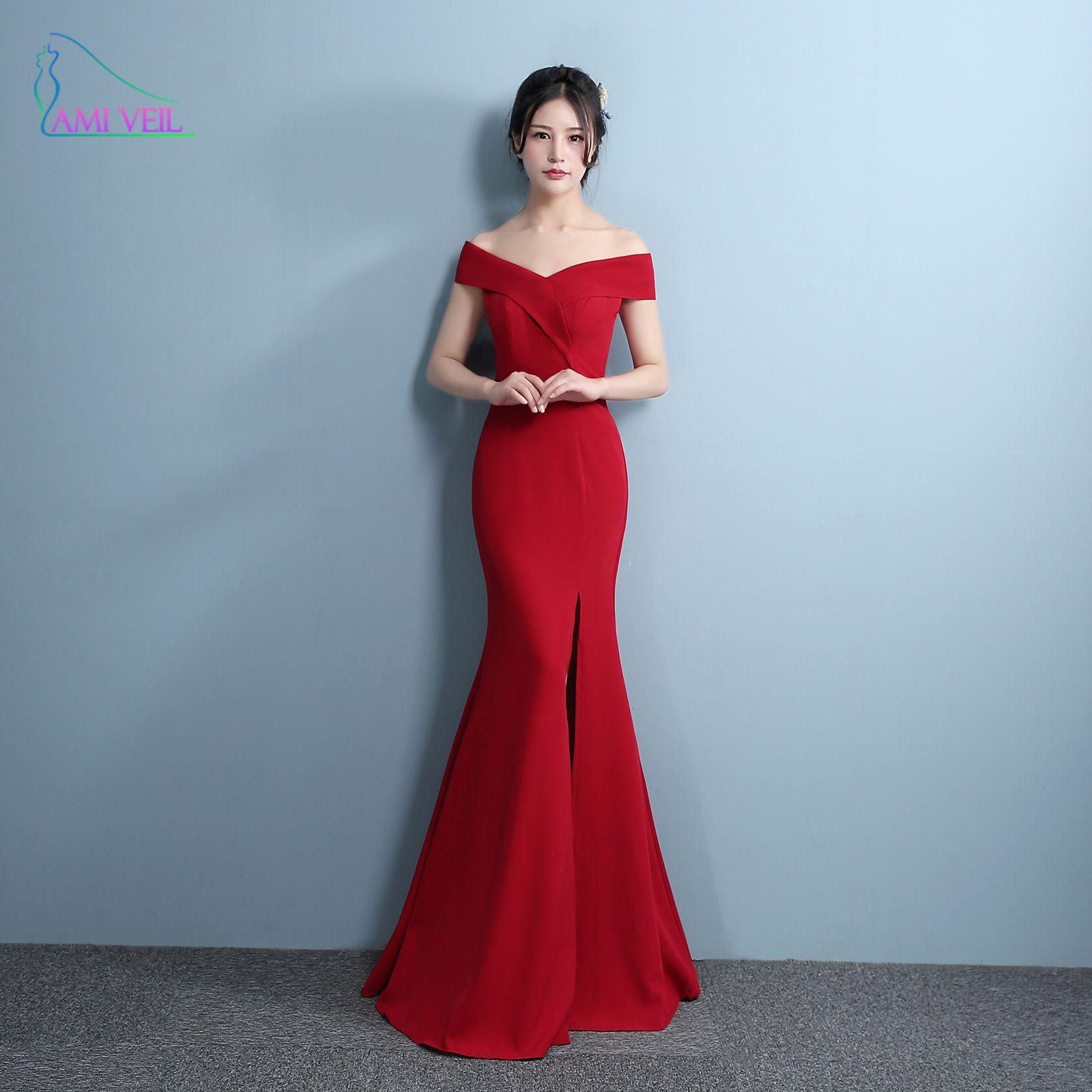 Mermaid Suknie Wieczorowe Designer Side Podział Czerwona Sukienka na  Studniówkę Sexy długie Suknie Wieczorowe V Neck Importowane Party Vestidos  De Gala ... 5e4787c9ac53