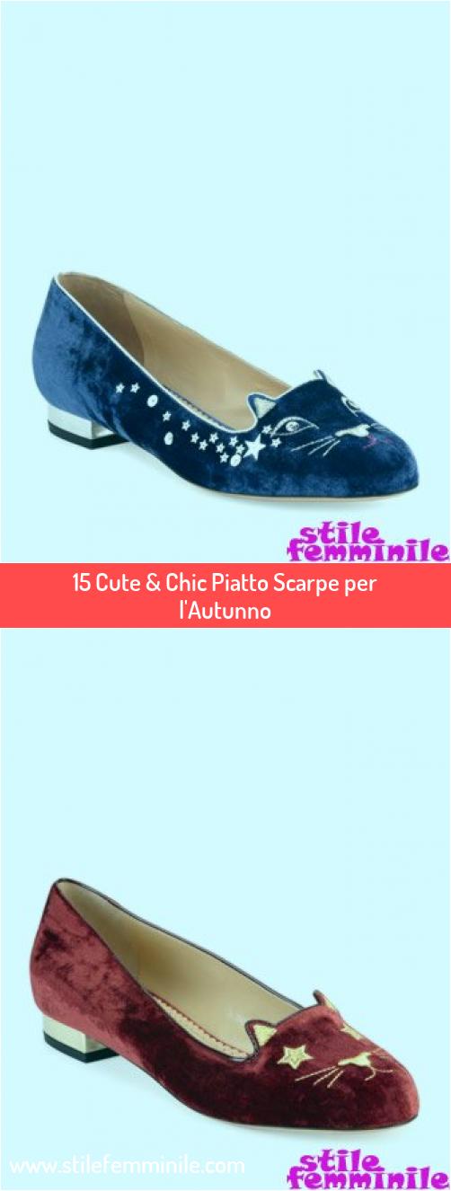 Photo of 15 Cute & Chic Piatto Scarpe per l'Autunno