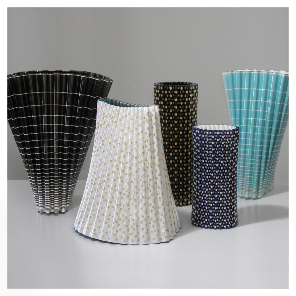 Naoki Takeyama - Yufuku Collection of ceramic vases [2009]