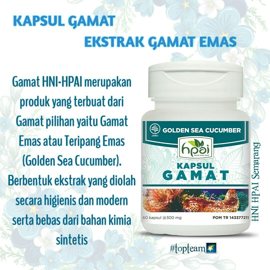 Bismillah Product Knowledge GAMAT Kapsul KAPSUL GAMAT