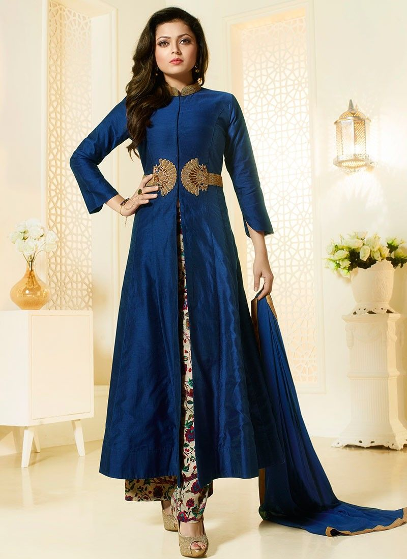 Other Women's Clothing Gentle Pakistani Bollywood Indian Anarkali Traditional Dress Suit Salwar Plazzo Suit