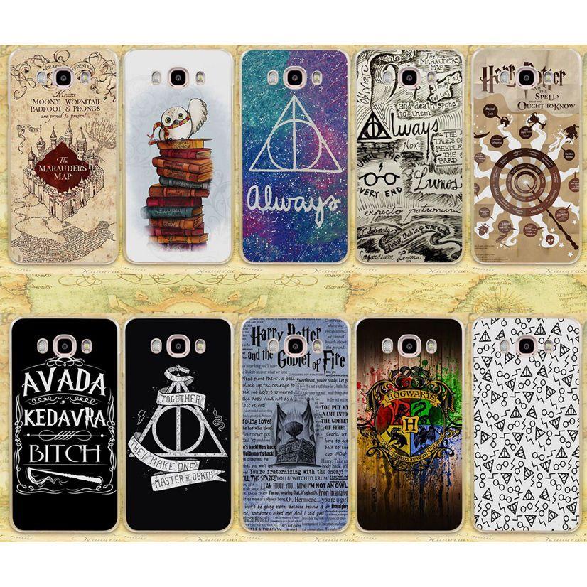 Harry Potter Case For Samsung J Seris Deathly Hallows Always Transparent Case Harry Potter Phone Case Harry Potter Iphone Harry Potter Case