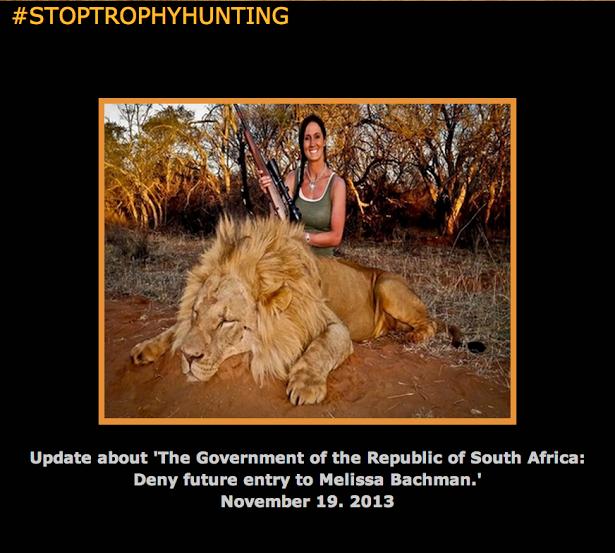 #stoptrophyhunting