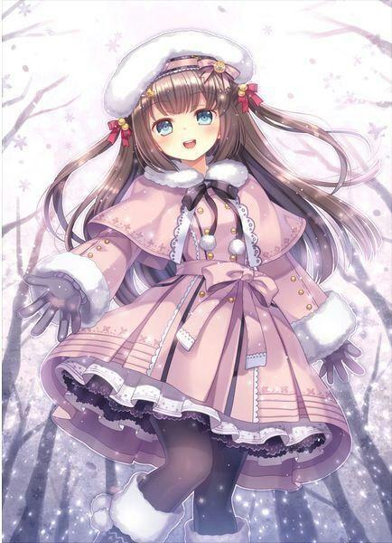 Fille bien vêtis pour l'hiver </div></body></html>