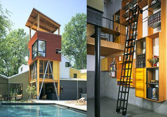 straw bale homes interior | Telluride Home by Fernau + Hartman Architects | Swipelife