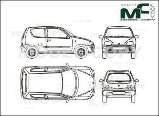Fiat seicento blueprints ai cdr cdw dwg dxf eps gif jpg fiat seicento blueprints ai cdr cdw dwg dxf eps malvernweather Images