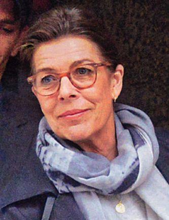 Caroline De Monaco Gafas Lunettes Eyeglasses Carey 233 Caille