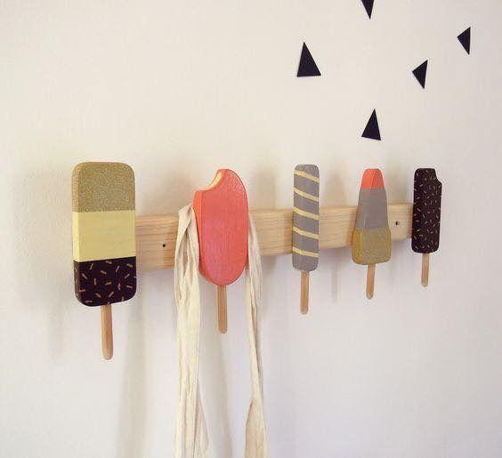 Cute Ice Lollies Hanger Big Girl Bedrooms Kinder Zimmer