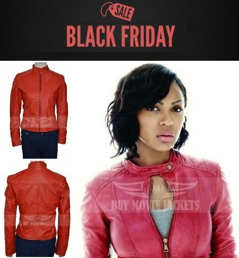 Black Friday sale on Meagan Good Leather Jackets | Jeans for Women ...