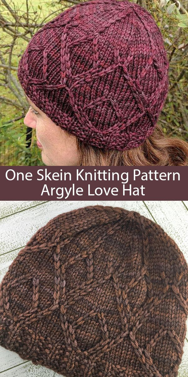 Argyle Knitting Patterns In the Loop Knitting in 2020