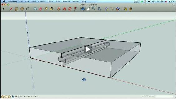 Learn To Navigate Sketchup Woodworking Models With Free With