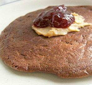 Healthy Chocolate Chip & Banana Pancakes