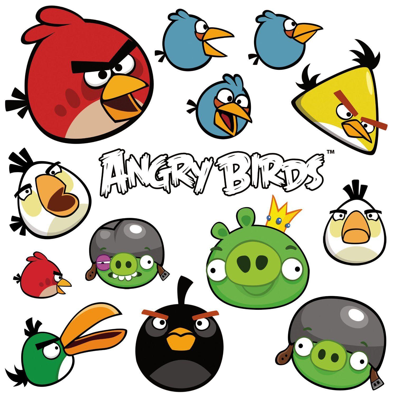 Mooi Angry Birds Kleurplaten En Zo