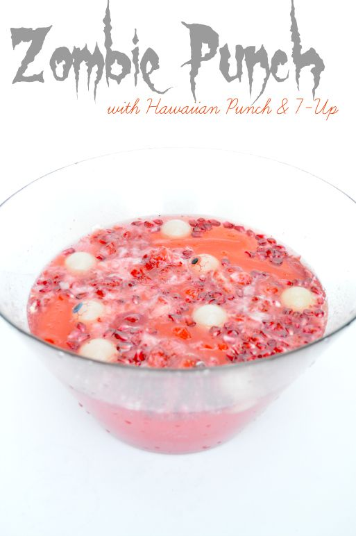 Zombie punch with hawaiian punch 7 up crushed up strawberries easy forumfinder Images