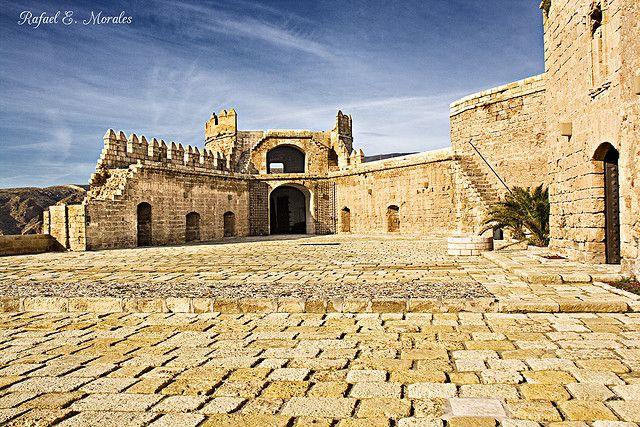 Alcazaba de Almería  por Rafael E. Morales