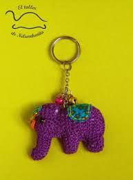 Crochet Elephant Amigurumi Key Chain | Patrones amigurumi, Muñecos ... | 262x193