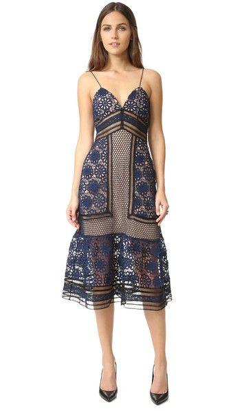 9061b8c619d2b SELF-PORTRAIT Strappy Lace Dress. #self-portrait #cloth #dress #top ...