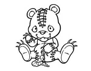 Scary Zombie Coloring Pages - Bing Images | Scary coloring ...