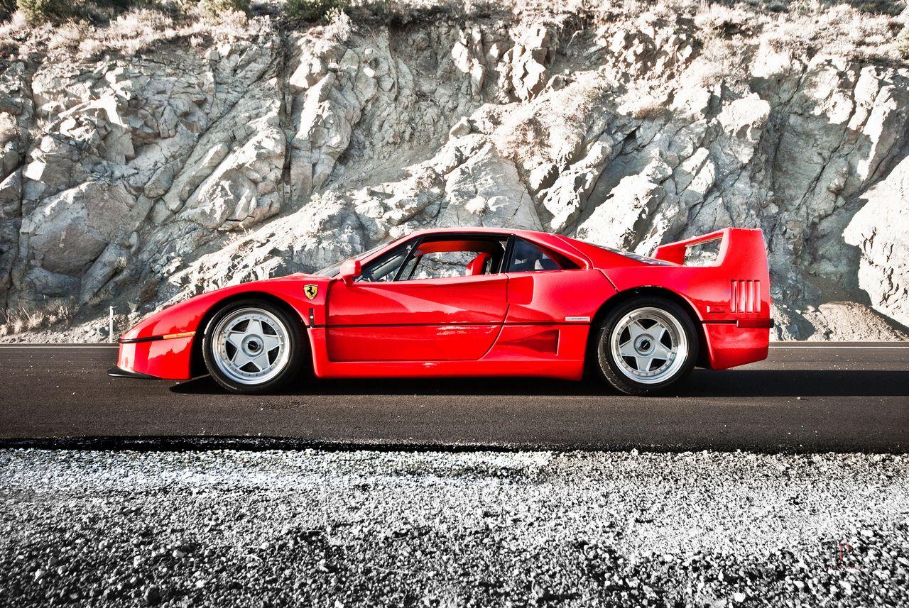 Classic Ferrari F40 Ferrari F40 Sports Cars Ferrari