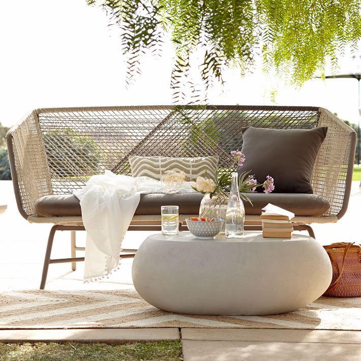Pebble Outdoor Coffee Table Outdoor Sofa Outdoor Coffee Tables