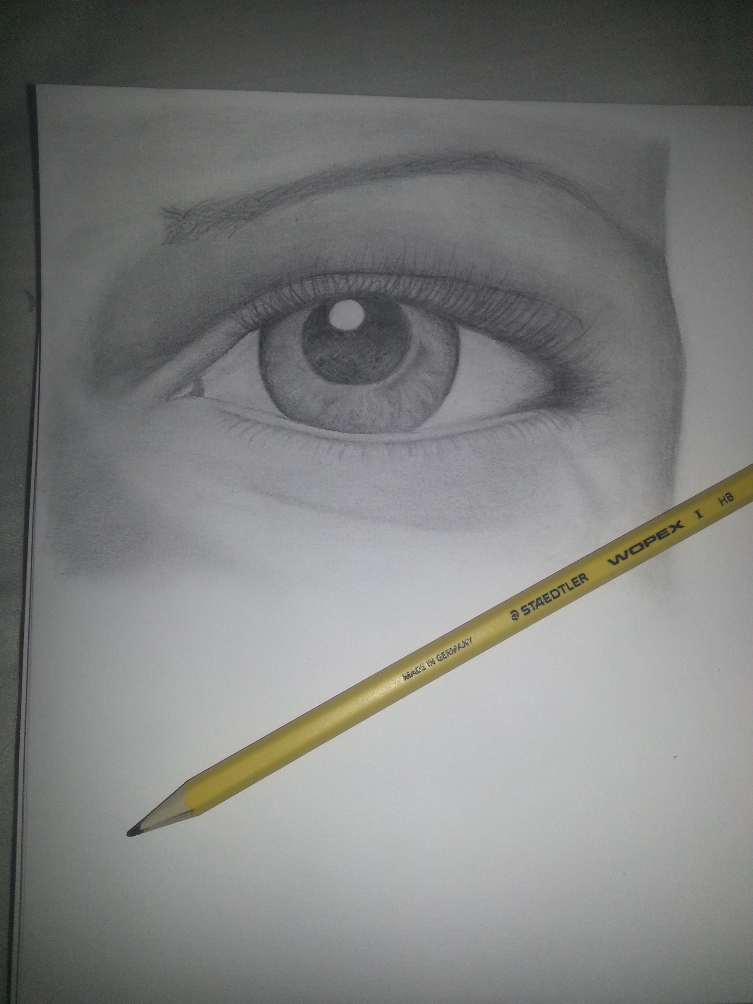 Hb pencil drawing of eye art ideas eye pencil drawing pencil