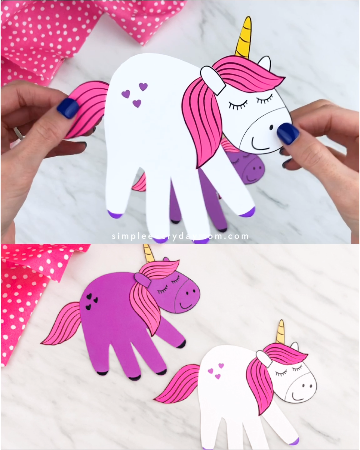 Photo of Handprint Unicorn Craft For Kids