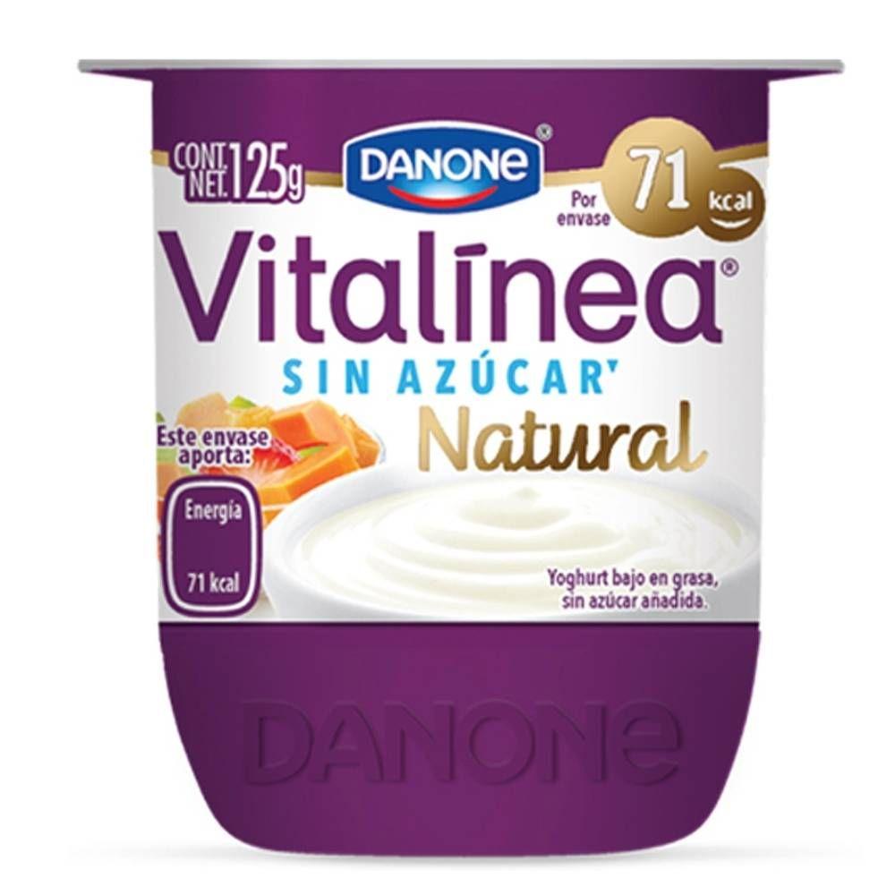 Danone Vitalinea Natural Yogurt Yogurt