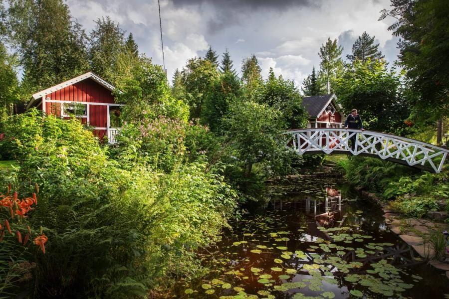 Rural idyll at its best, the North Karelia, Leo Waltter's garden